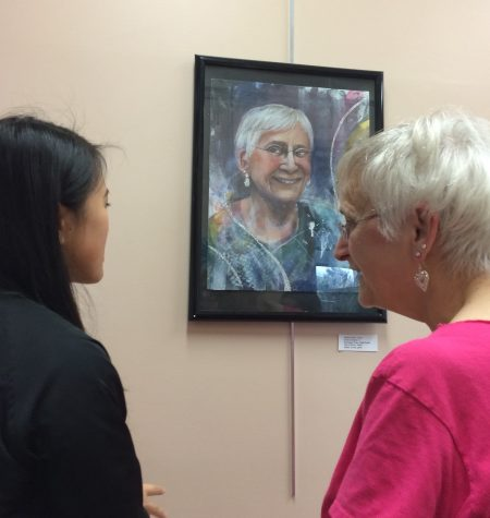 "AP Artists take to the senior center again for the award-winning annual field trip and exhibit ""Beauty in Age"""