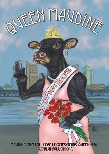 Bovine Queen Wins Crown