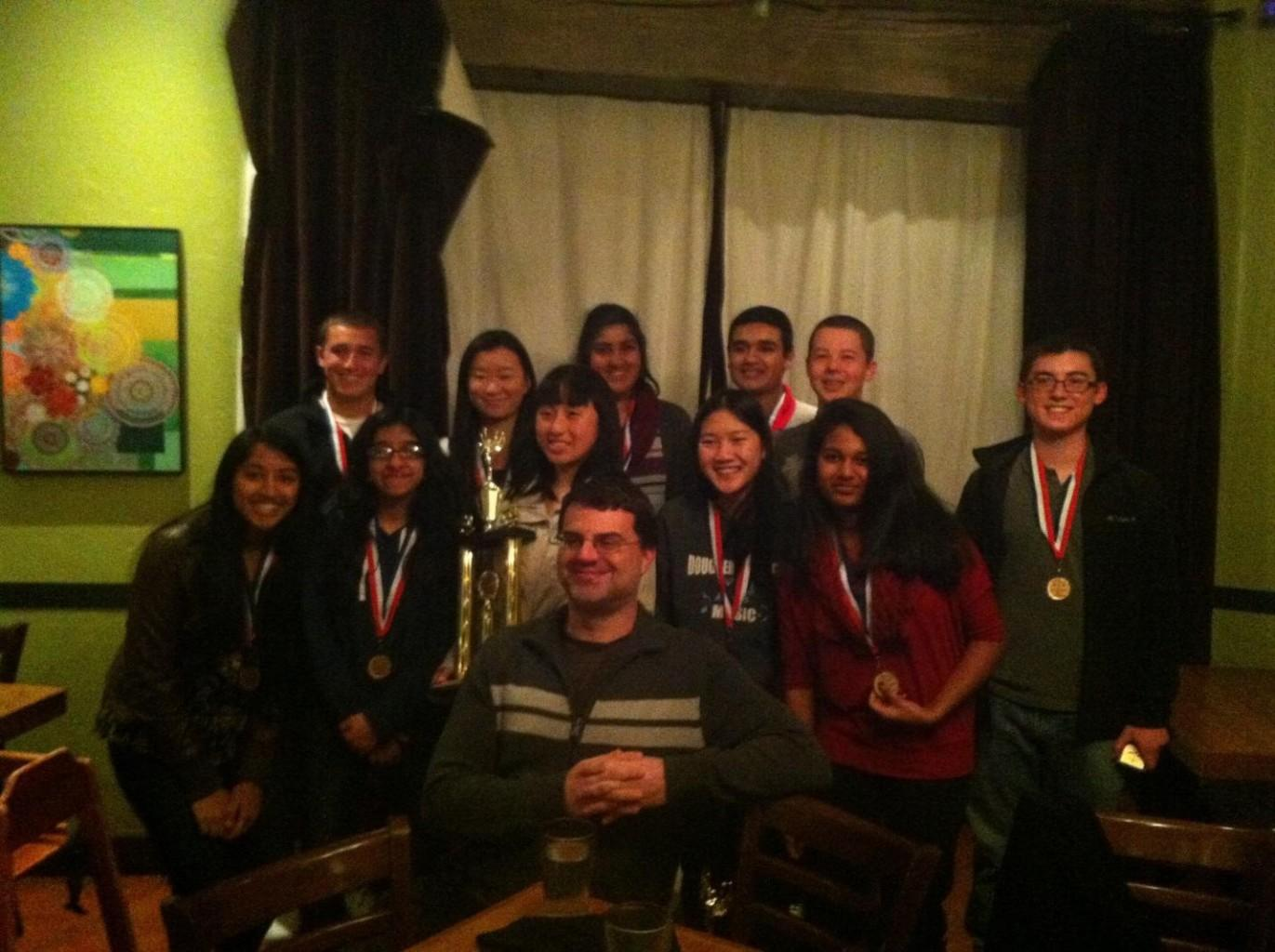 Mock Trial Finishes Third in County