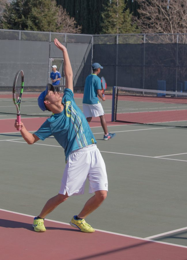 Senior+Camden+Pham+excelled+in+his+doubles+match.