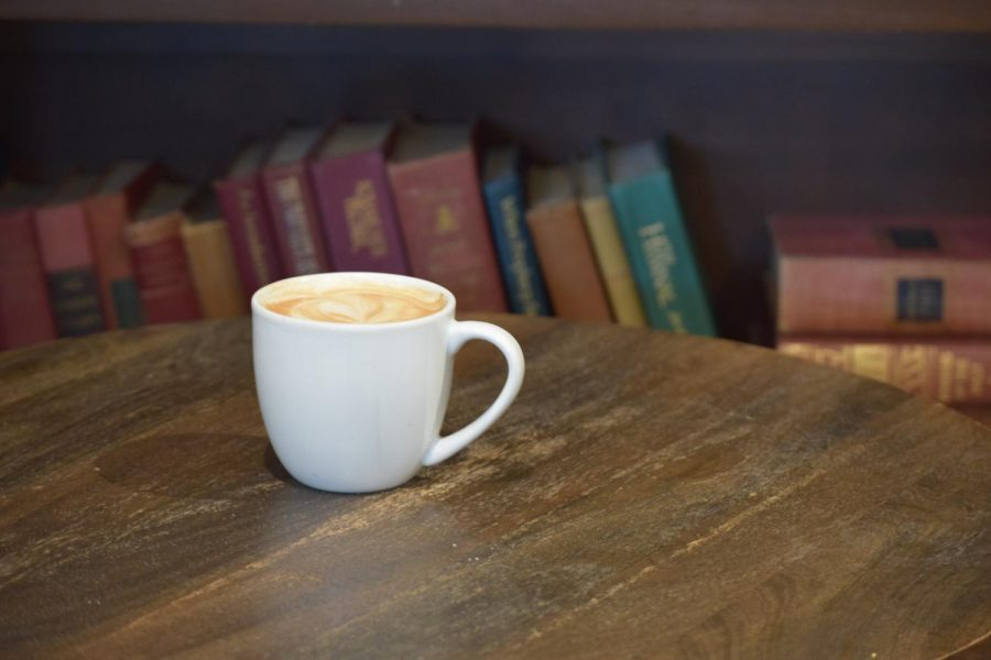 Inklings' lavender latte.
