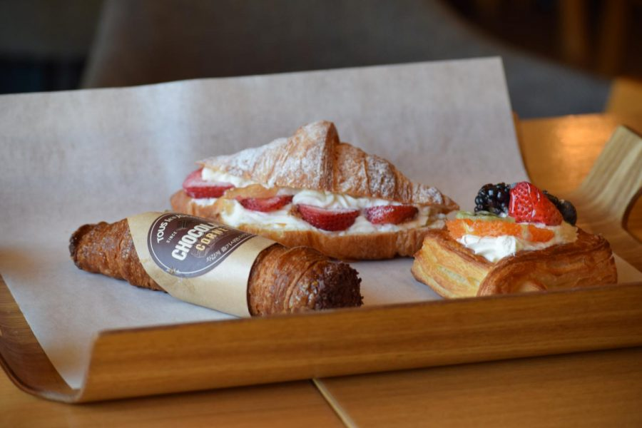 Tous+Les+Jour%27s+chocolate+coronate%2C+strawberry+croissant+and+Fruit+Tart