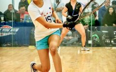 Nikita Chauhan defeats Kaitlyn Boyle in a tie-breaker at the 2018 National High School Racquetball Tournament in Portland, Oregon, advancing to the finals.