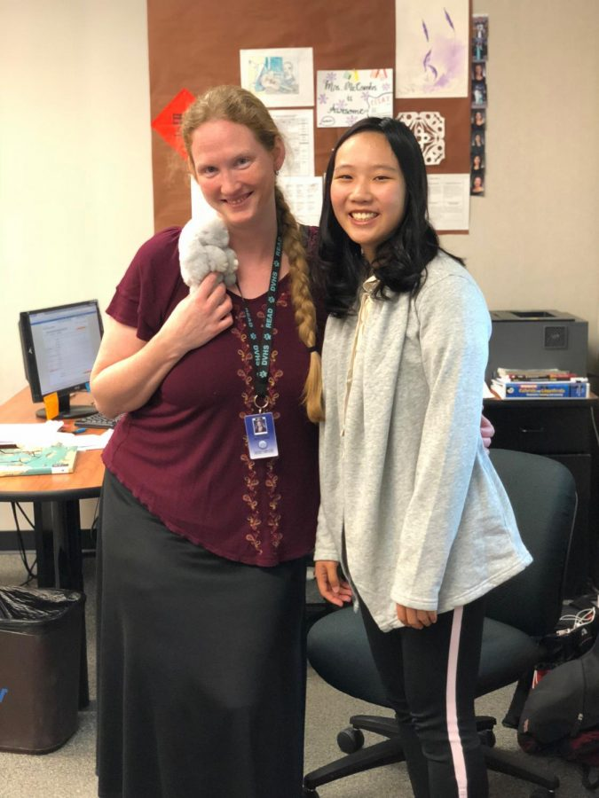 Along with other immigrant students, Patricia finds a community of mutual compassion in the classroom of ELD Intermediate teacher Trista McCombs.