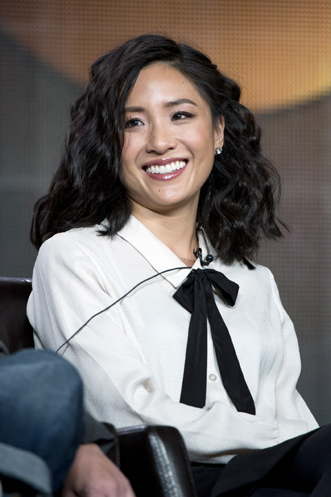 Taiwanese-American actress, Constance Wu, plays the female lead in the movie