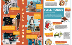Volume VI, Issue 3 Features: Fall fashion and fall foods