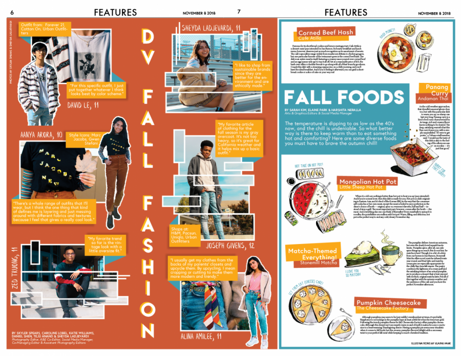 Page design by Co-Features Editors Taylor Atienza and Megan Tsang.