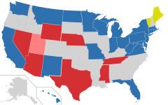 Early predictions for the 2018 U.S. Senate elections cast a Democratic presence in the northern and eastern states against a Republican majority in the Midwest.