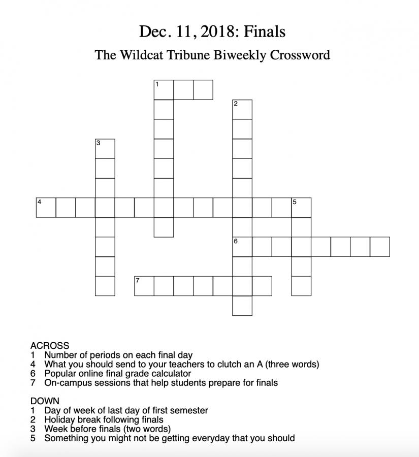Crosswords%3A+Week+3