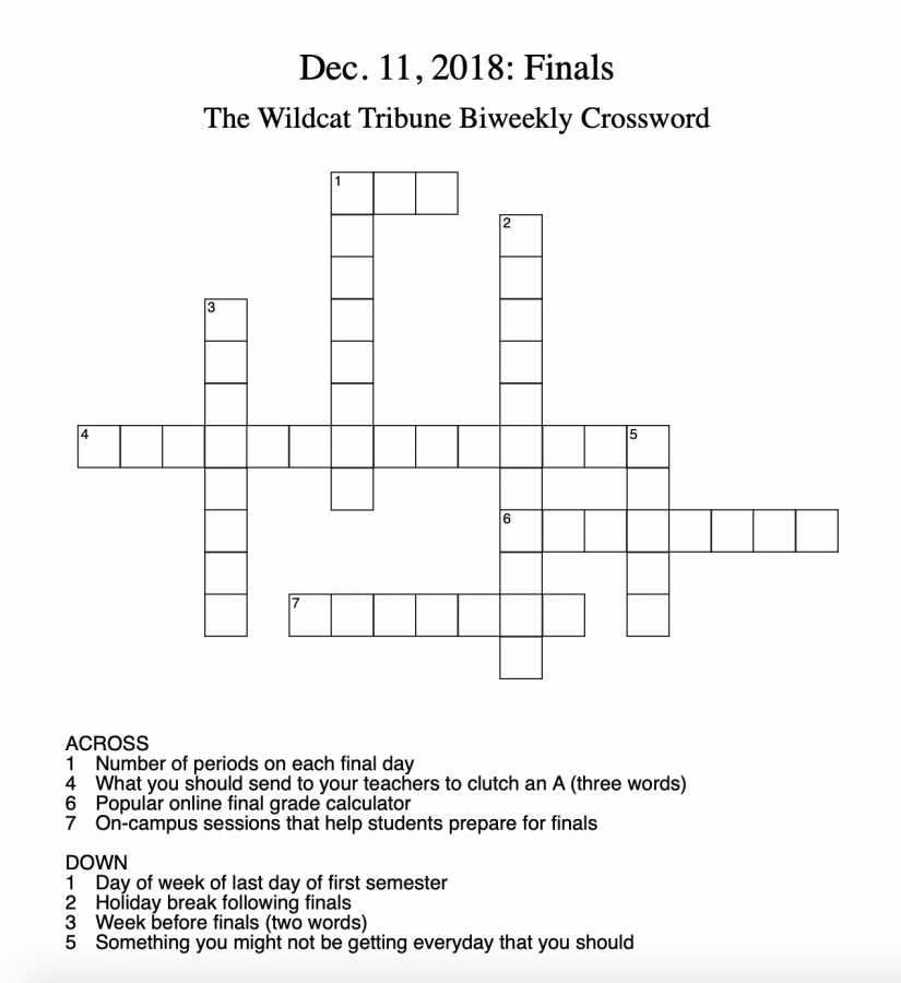 Crosswords: Week 3