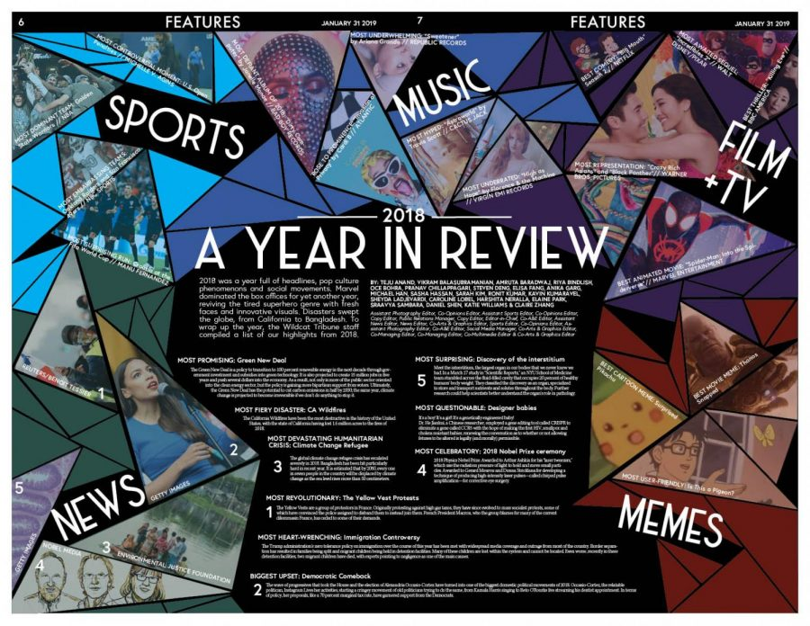 Page design by Features Editors Taylor Atienza and Megan Tsang.