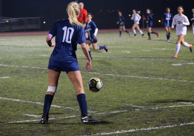 Despite junior Alyssa O'Brien's 65th-minute penalty goal, DV's women's soccer team was unable to complete the comeback on Senior Night.