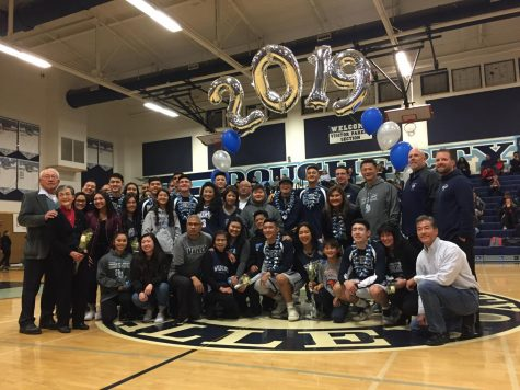 Women's Basketball defeats Cowboys during Senior Night