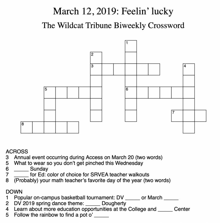 Crosswords: Week 7