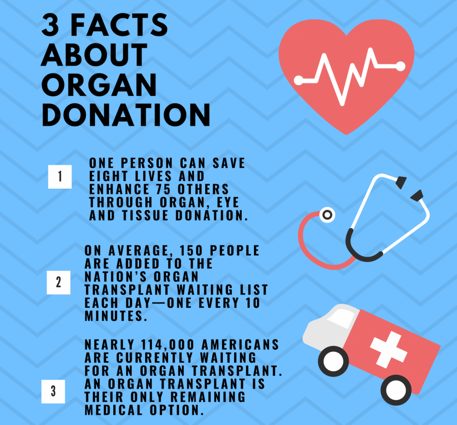 3+facts+about+organ+donation