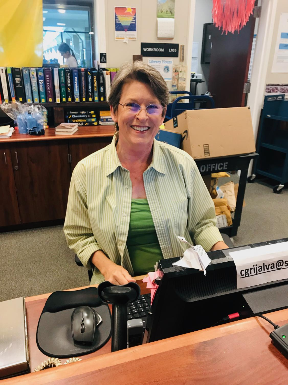 After nine years at Dougherty Valley, Mrs. Catherine Grijalva plans to retire from the library at the end of the year.