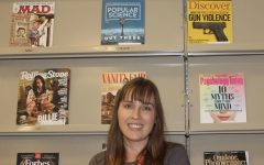 Mrs. Hussunet experiences a new life at DV as a teacher-librarian
