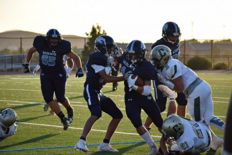 DV Football crushed by Amador Valley Dons in Homecoming game