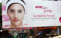 Fair & Lovely advertising campaigns emphasize paler skin, reinforcing beauty standards.