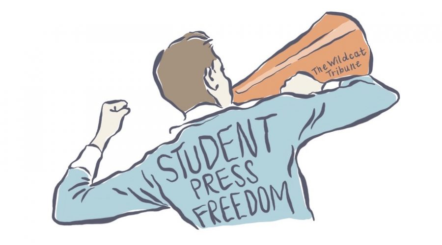 Student Press Freedom Day Illustration