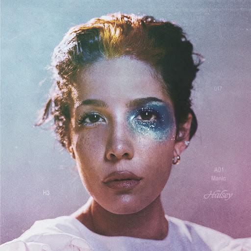 Halsey's album cover hints at the raw, honest feel of her newest songs.