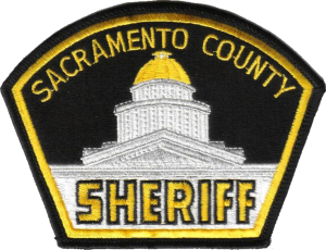 Sacramento county police department sheriff patch