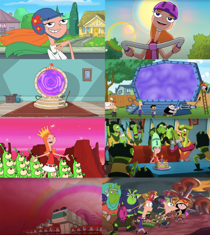 The entirety of Candace Against the Universe is based on rehashing elements of the original show.