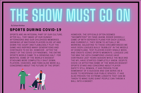 The show must go on: sports during COVID-19