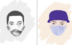 Masks in 1918 versus 2020