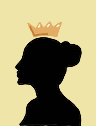 An influencer may have a crown but is only a shadow under social media.