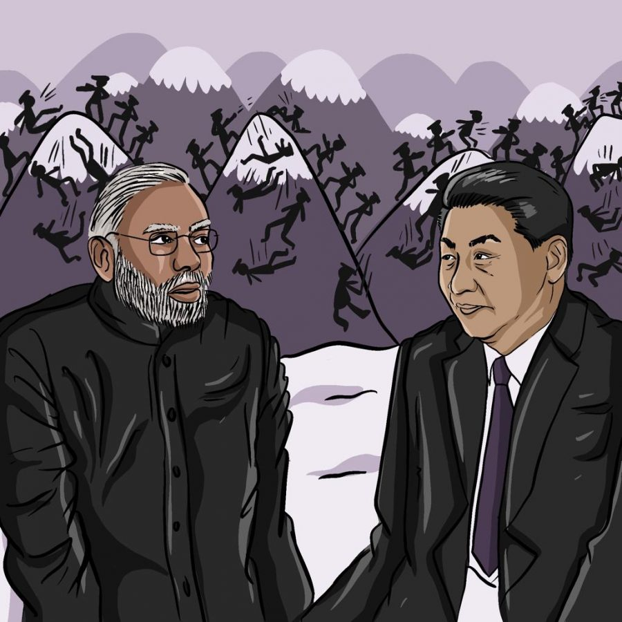 China and India have a standoff in the Himalayas from a conflict that dates all the way back to 1914.