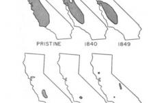Tule Elk Population Distribution Maps of California, Past to Present