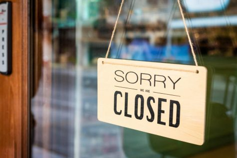 Many non-essential businesses were told to close because of a new Stay at home order.
