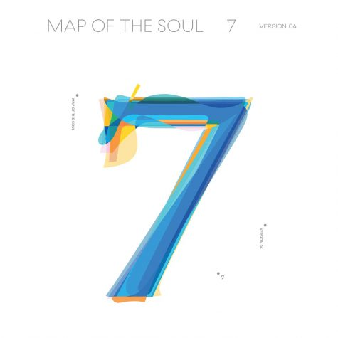The album cover for Map of the Soul: 7 by BTS.