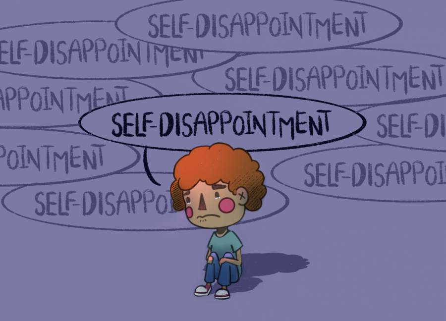 Even with the lesser amount of APs and honors classes, freshmen still experience self disappointment.