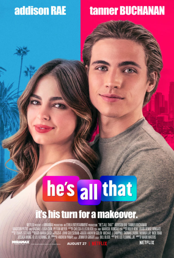 Hes All That, featuring TikTok star Addison Rae, is an exaggerated representation of the high school experience.