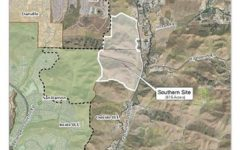 The Board of Supervisors voted to build houses on the map shown.