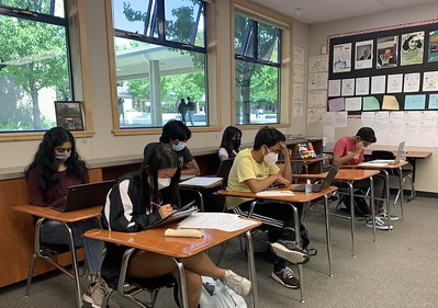 Following the distribution of Chromebooks to all students, technology has started playing a bigger role in class activities.