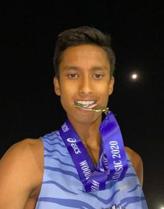 """""""I joined the DV Cross Country team… I was mentally focused and physically prepared."""""""