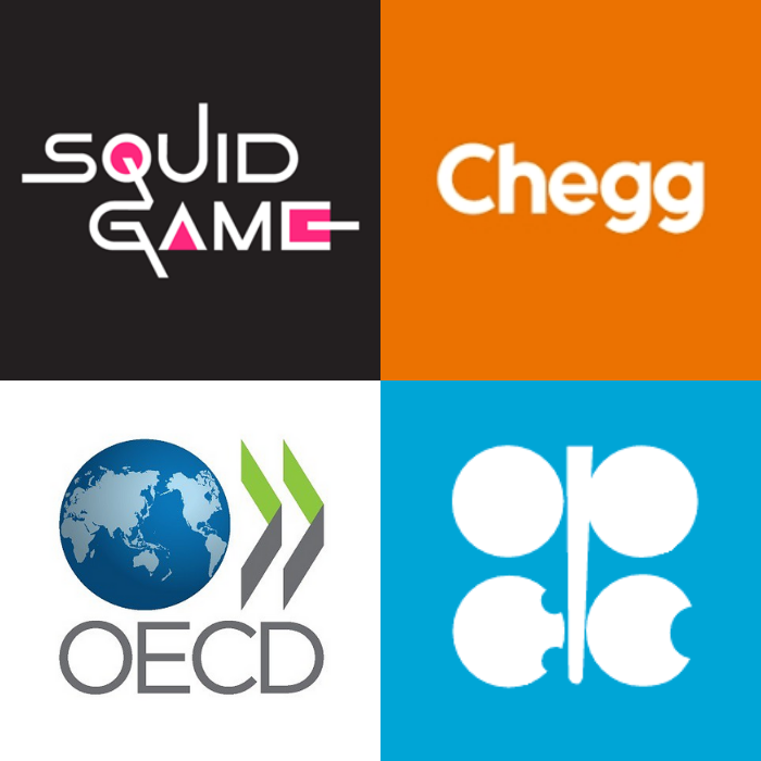 """Netflix's """"Squid Game a smashing success,"""" Chegg takes a hit, OECD and OPEC shake up international business."""