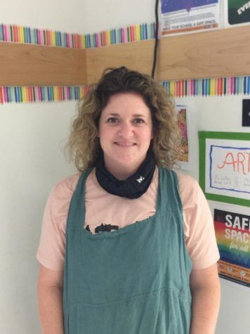 Ms. Kimberly Tuohy explores her passion for art through teaching Ceramics and Art 1.